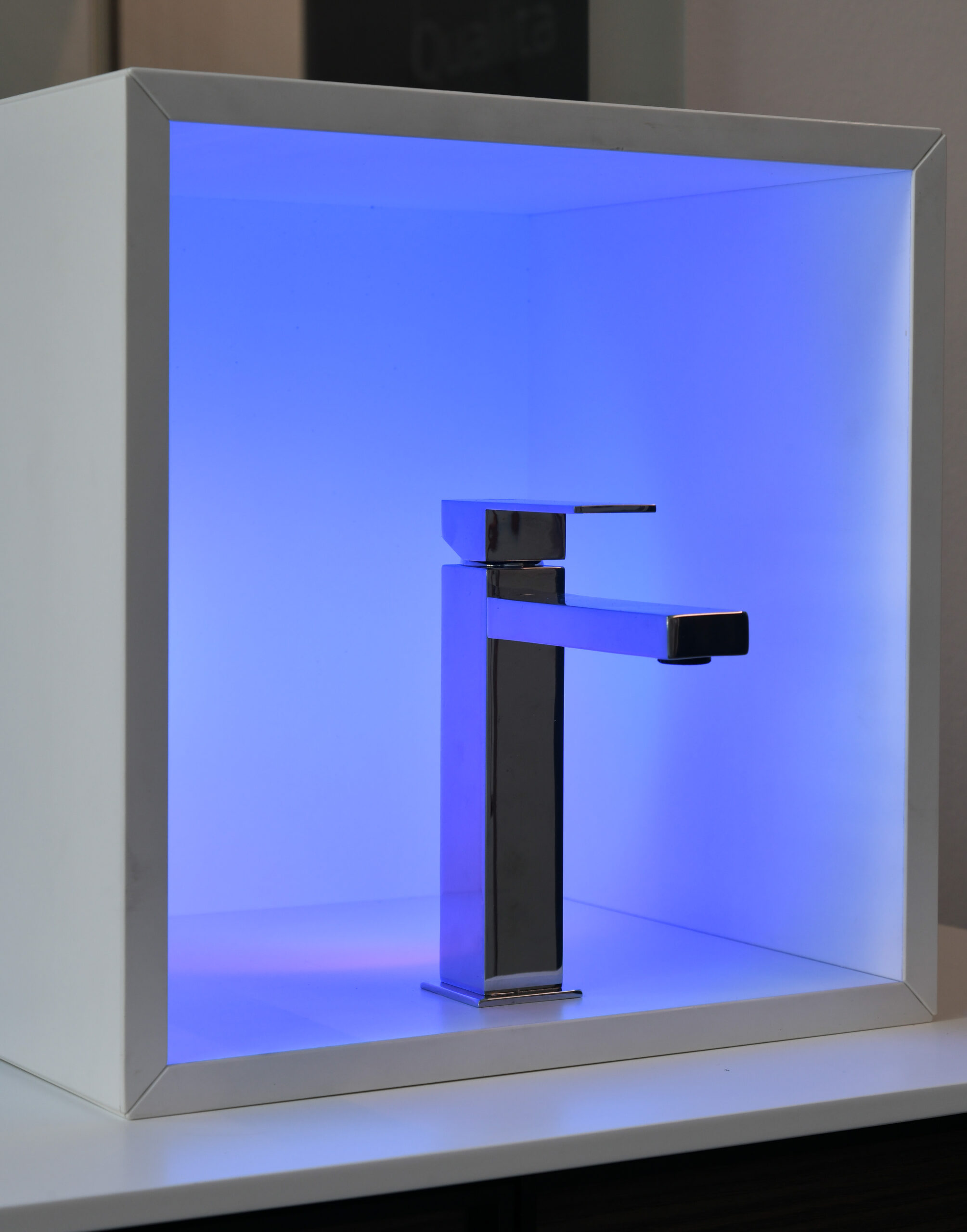 q-design sfondo blu